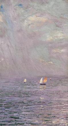 Дубовской Н. Н. В море
