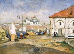 Горбатов К. И. Пристань в старом городе