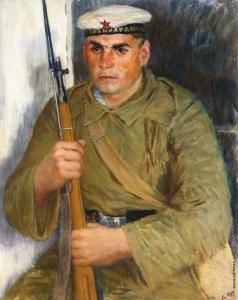 Лебедев В. В. Портрет моряка-краснофлотца