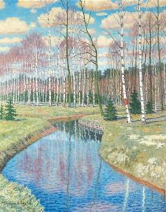 Богданов-Бельский Н. П. Весна