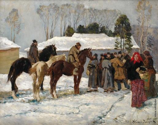 Исупов А. В. Деревенское собрание