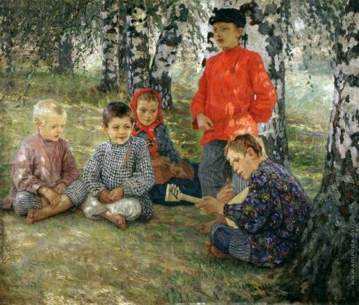 Богданов-Бельский Н. П. Виртуоз