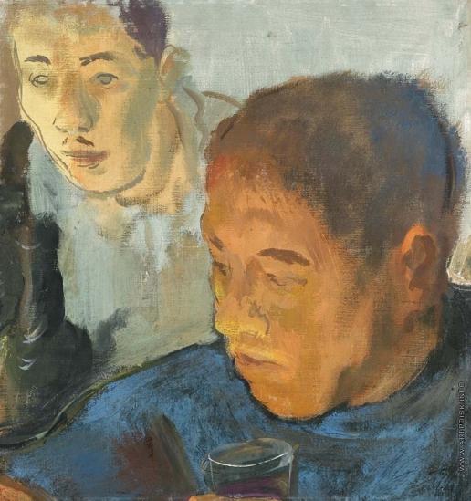 Яковлев А. Е. Двойной портрет