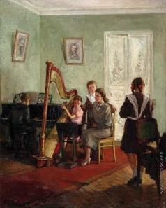 Любимов А. М. Урок музыки