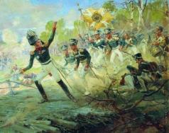 Самокиш Н. С. Подвиг солдат генерала Н.Н. Раевского под Салтановкой 11 июля 1812 года