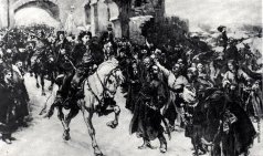 Самокиш Н. С. Въезд Богдана Хмельницкого в Киев 1649 года
