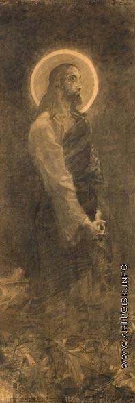 Врубель М. А. Христос в Гефсиманском саду