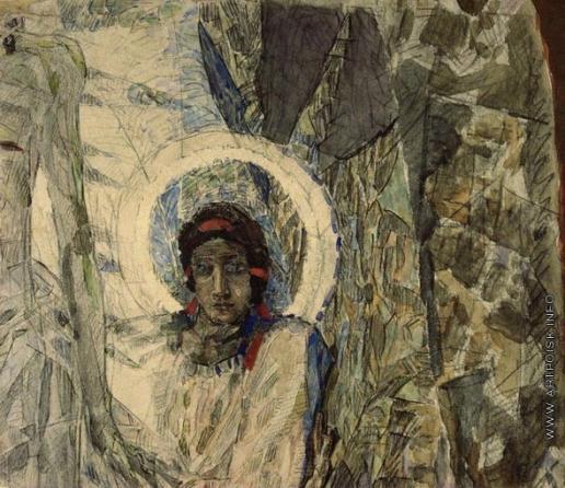 Врубель М. А. Голова ангела