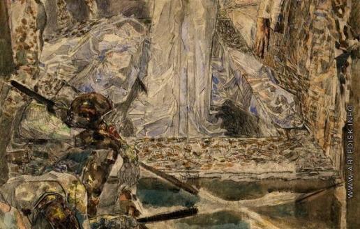 Врубель М. А. Спящие воины