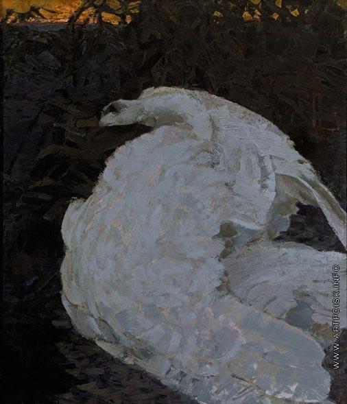 Врубель М. А. Лебедь
