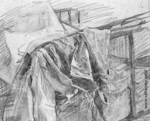 Врубель М. А. Кровать