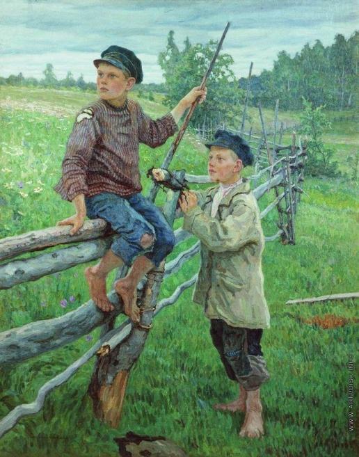 Богданов-Бельский Н. П. Деревенские мальчики