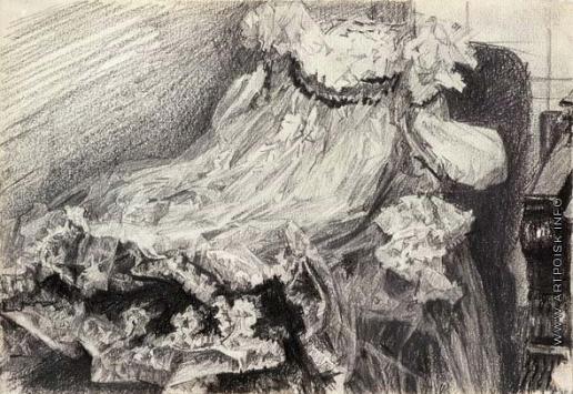 Врубель М. А. Платье