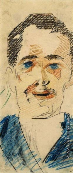Врубель М. А. Портрет мужчины