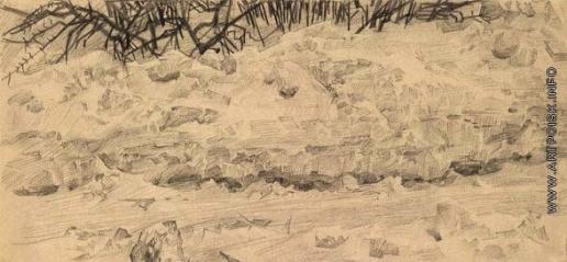 Врубель М. А. Снежный сугроб