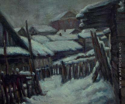 Анопьян А. О. Прокопьевск. Зима