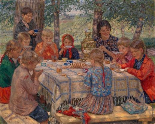 Богданов-Бельский Н. П. День рождения учительницы
