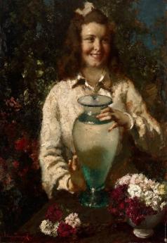 Исупов А. В. Девушка с вазой
