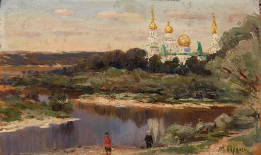Беркос М. А. Вид на Ново-Иерусалимский монастырь