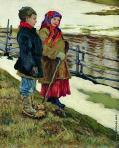 Богданов-Бельский Н. П. Крестьянские дети