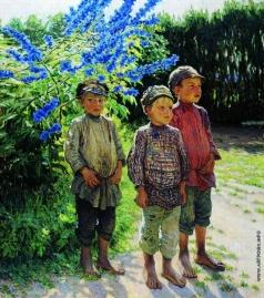 Богданов-Бельский Н. П. Крестьянские мальчики