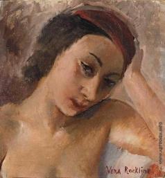 Рохлина В. Н. Женский портрет