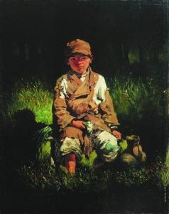 Богданов-Бельский Н. П. Крестьянский мальчик