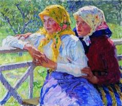 Богданов-Бельский Н. П. Латгальские девочки