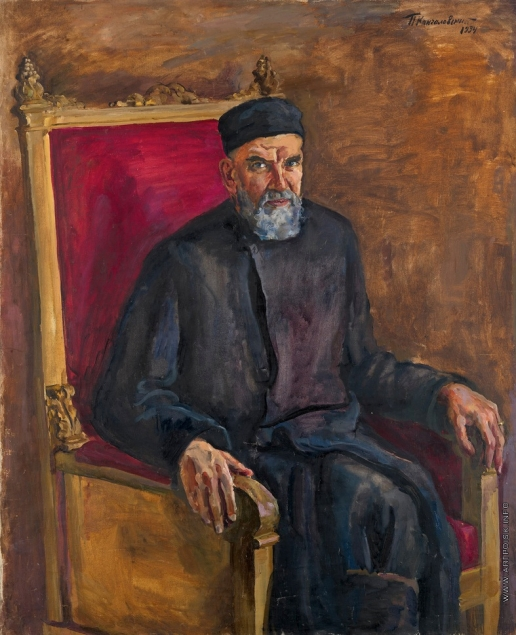 Кончаловский П. П. Портрет брата художника, историка Дмитрия Петровича Кончаловского