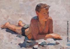Витман И. И. Этюд к картине «Мальчики на пляже»