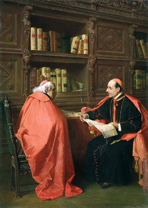 Риццони А. А. Совещание кардиналов