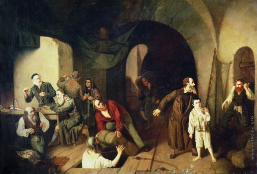 Риццони А. А. Евреи-контрабандисты
