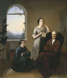 Риццони А. А. Семейный портрет