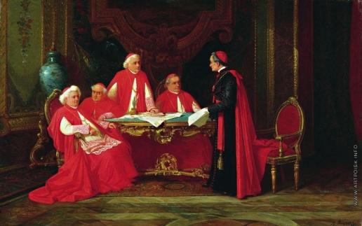 Риццони А. А. Совет кардиналов