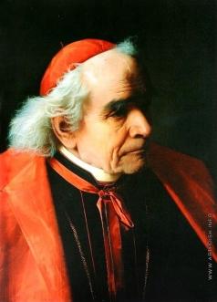 Риццони А. А. Голова кардинала