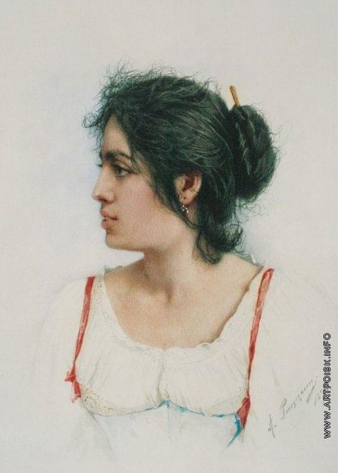 Риццони А. А. Женская головка