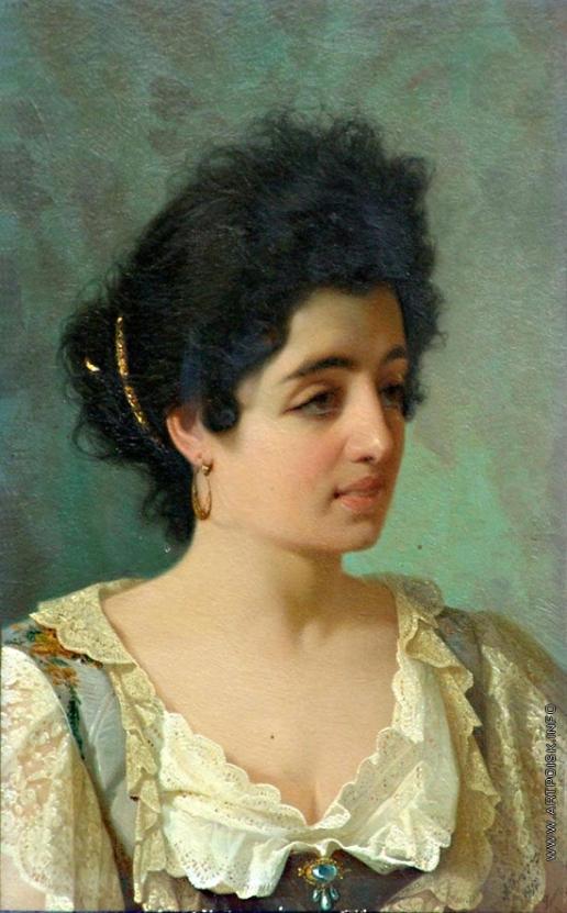 Риццони А. А. Портрет девушки