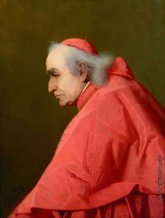 Риццони А. А. Портрет кардинала