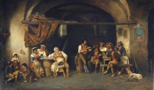 Риццони А. А. В таверне