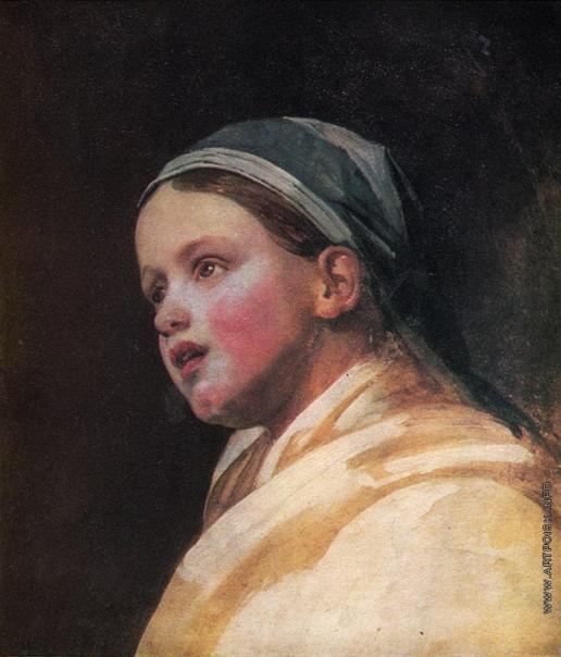 Венецианов А. Г. Портрет девочки