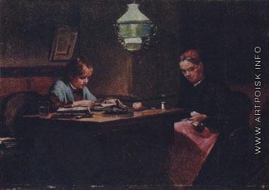 Лемох К. В. Бабушка и внучка