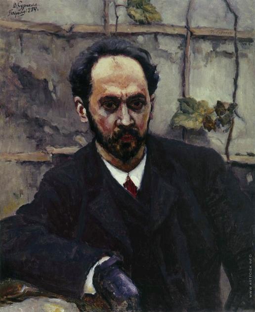 Суриков В. И. Портрет художника  И.Е. Крачковского