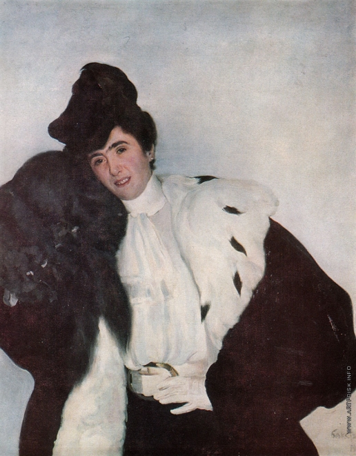 Бакст Л. С. Женский портрет