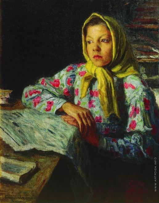 Богданов-Бельский Н. П. Портрет девочки