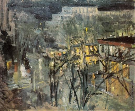 Коровин К. А. Городской пейзаж