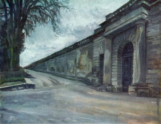 Бенуа А. Н. Оранжерея Версаля