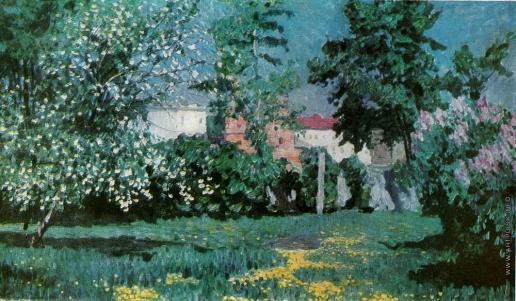 Грабарь И. Э. Весенний пейзаж
