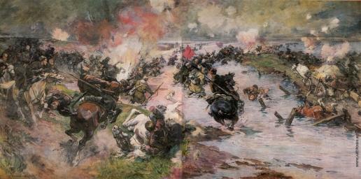 Самокиш Н. С. Переход Красной Армии через Сиваш