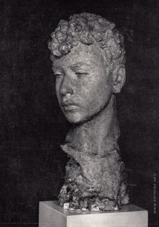 Мухина В. И. Портрет сына