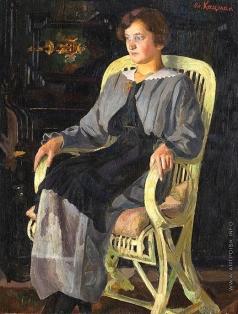 Кацман Е. А. Девушка в кресле